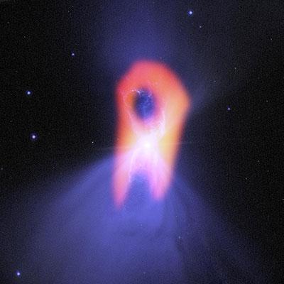 Ghostly Boomerang Nebula