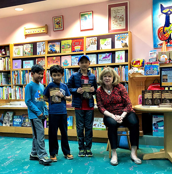Kerrie Hollihan inspires readers with her exciting factual books.